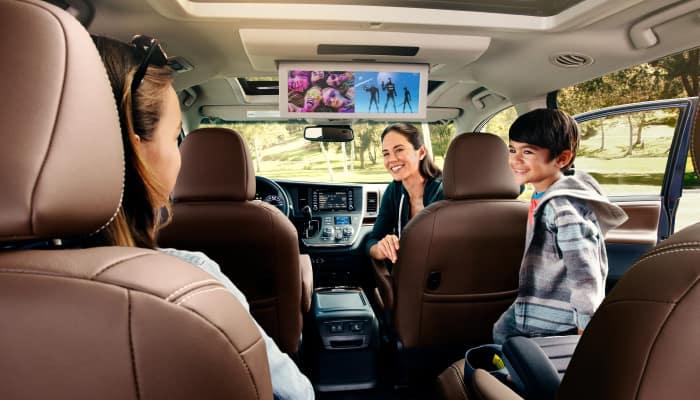 Stay safe inside the 2019 Toyota Sienna