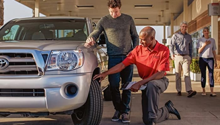 Visit Arlington Toyota's service center near Palm Valley, FL