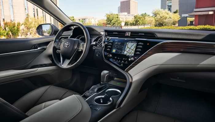 Toyota vehicles features spacious and luxurious interiors
