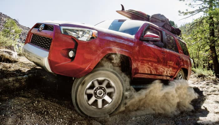 Toyota vehicles offer higher performance compared to their Honda competitors