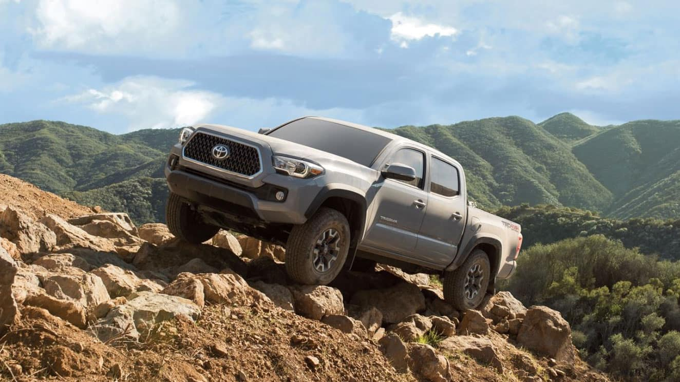 The powerful 2019 Toyota Tacoma