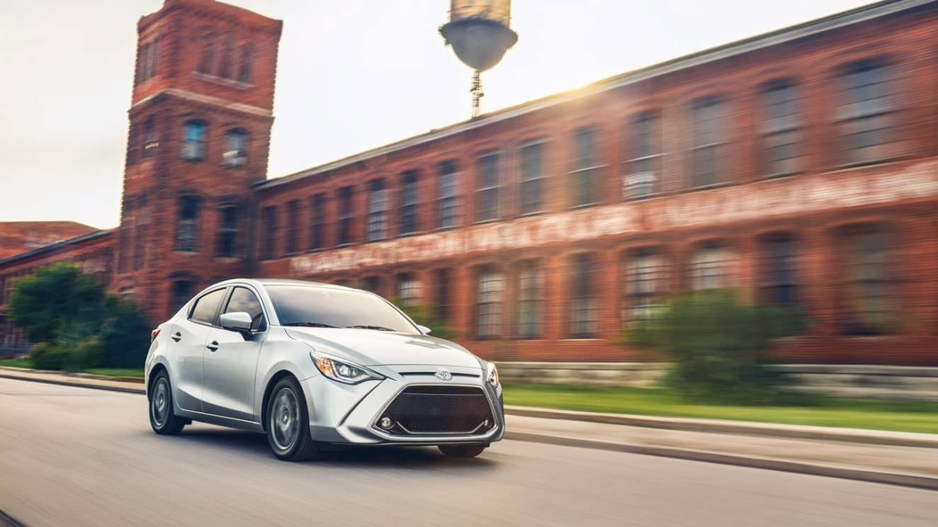 The 2019 Toyota Yaris near Asbury Lake, FL
