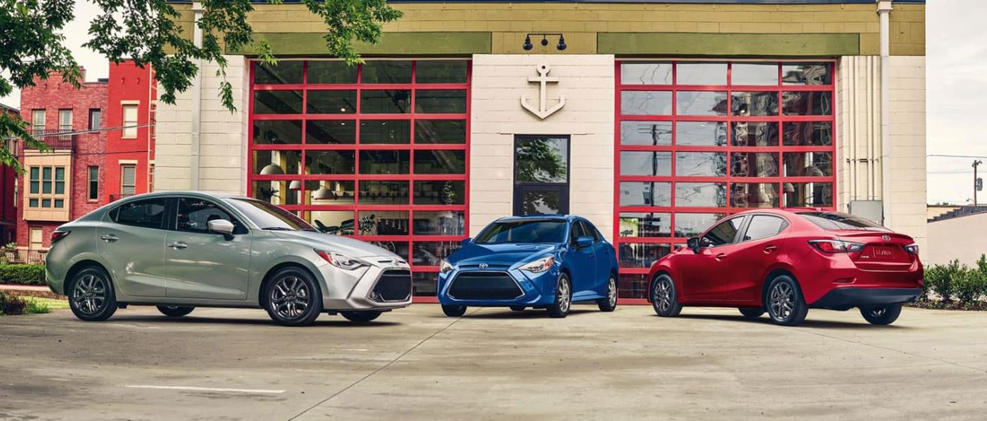 The 2019 Toyota Yaris from Arlington Toyota near Asbury Lake, FL