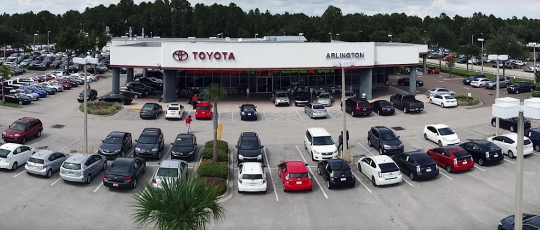 Arlington Toyota near Asbury Lake, FL