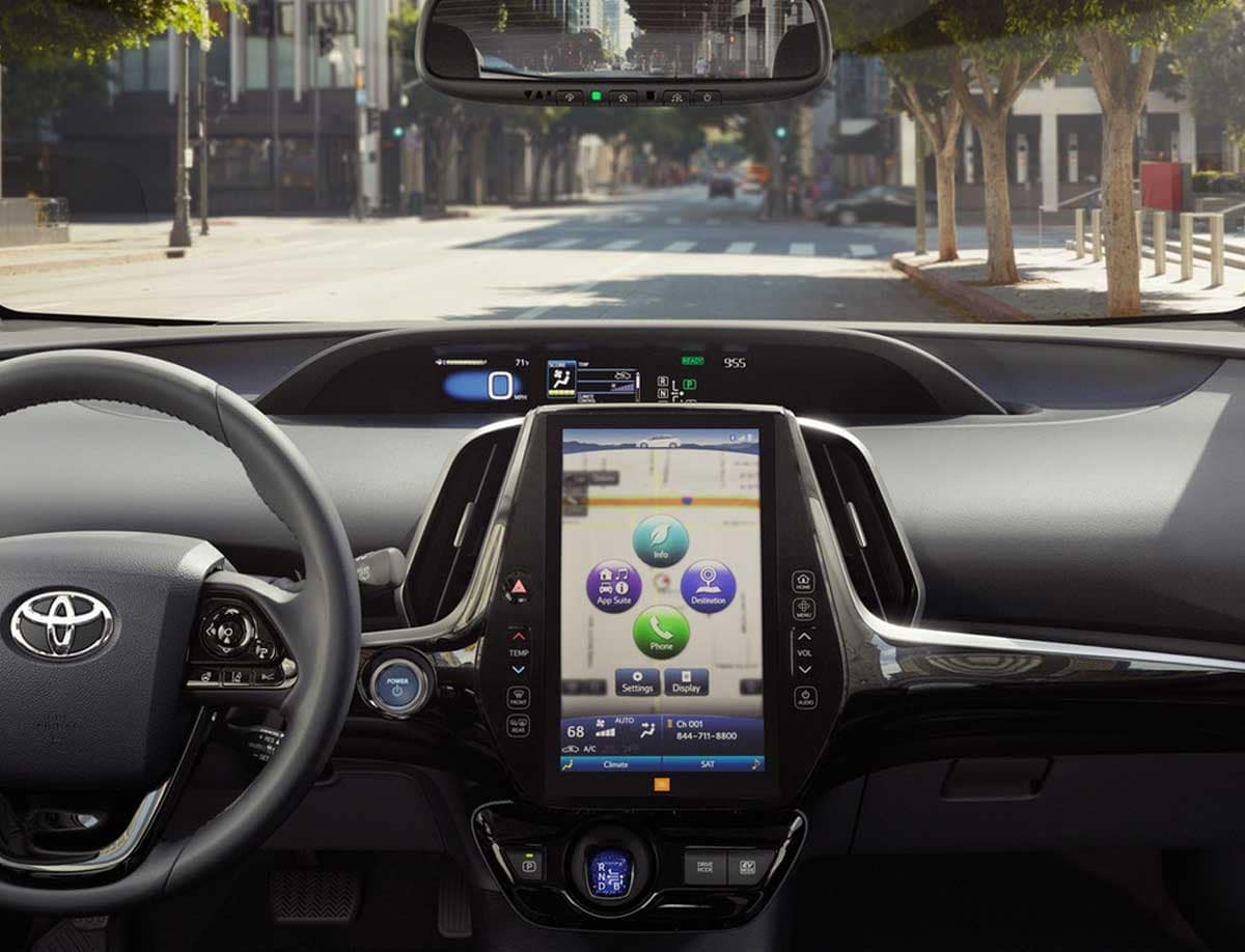 2019 Toyota Prius Technology Features