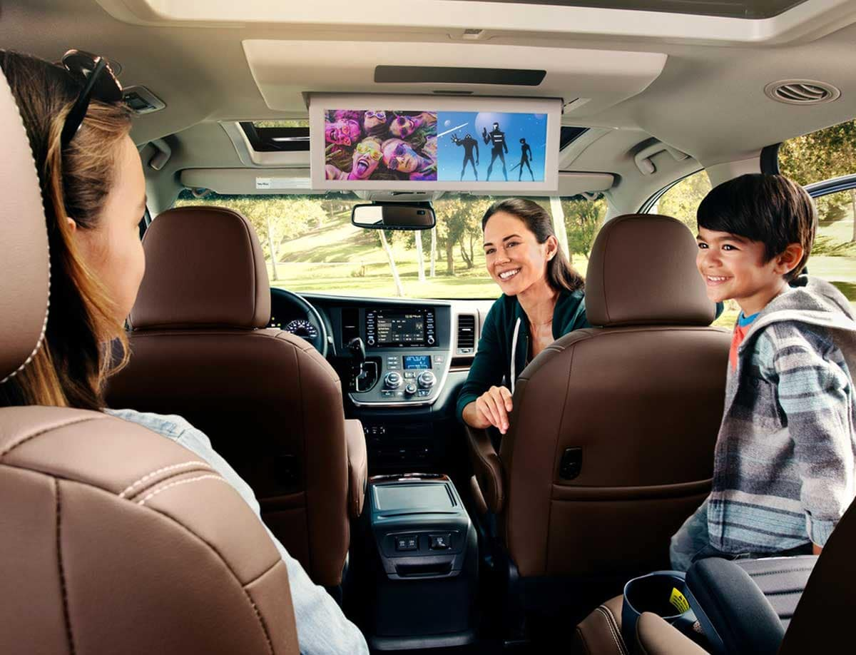 2020 Toyota Sienna Technology Features
