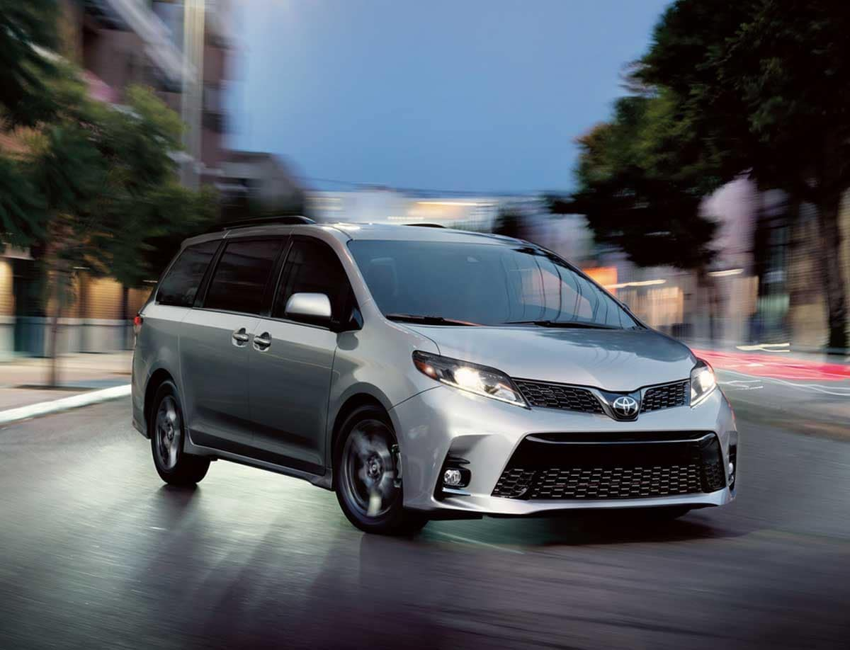 2020 Toyota Sienna Safety Features