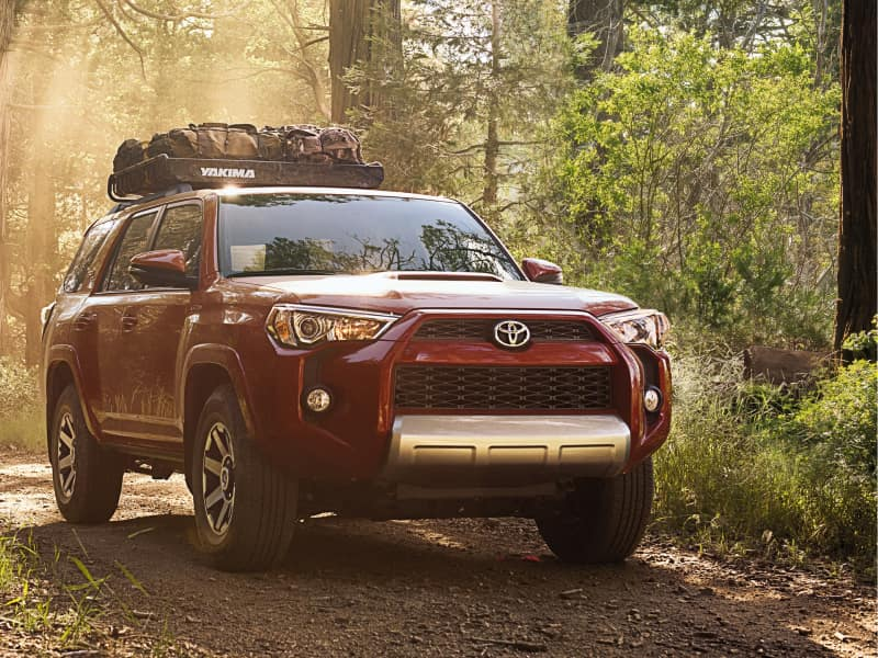 The rugged exterior of the 2019 Toyota 4Runner