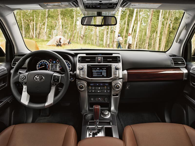 The spacious interior of the 2019 Toyota 4Runner