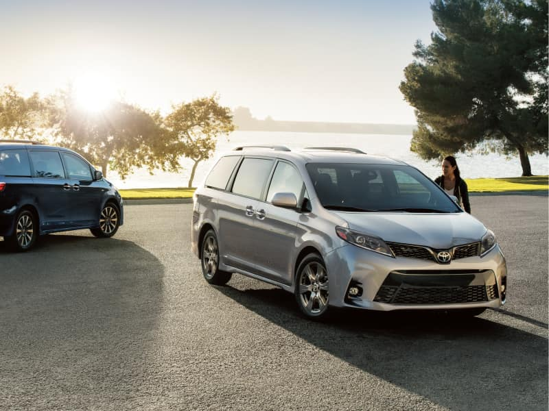 The 2020 Toyota Sienna for sale at Arlington Toyota in Jacksonville, FL
