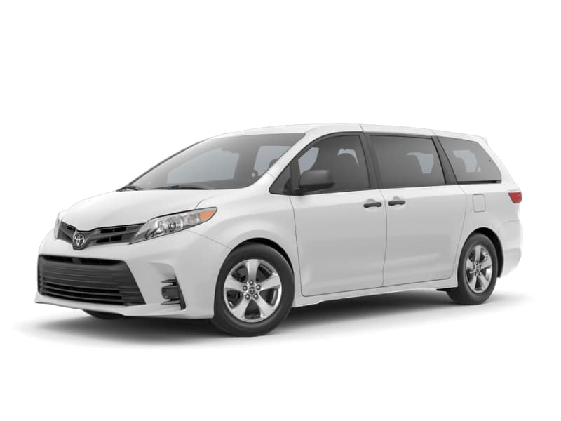 The 2020 Toyota Sienna L for sale at Arlington Toyota in Jacksonville, FL