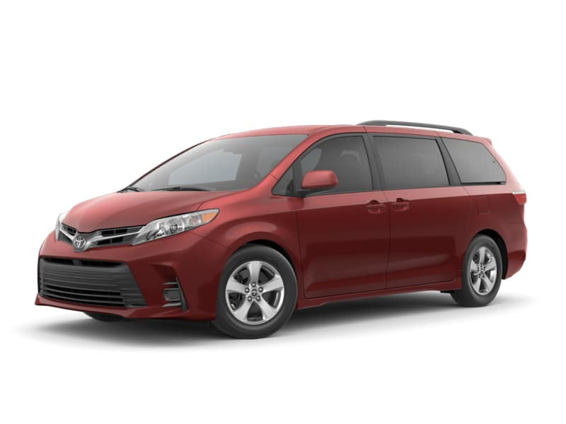 The 2020 Toyota Sienna LE for sale at Arlington Toyota in Jacksonville, FL