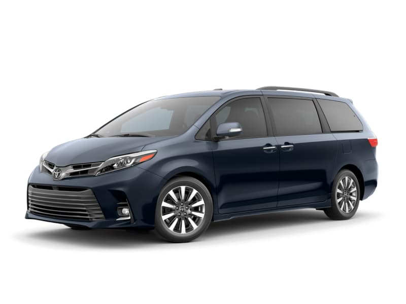 The 2020 Toyota Sienna Limited for sale at Arlington Toyota in Jacksonville, FL