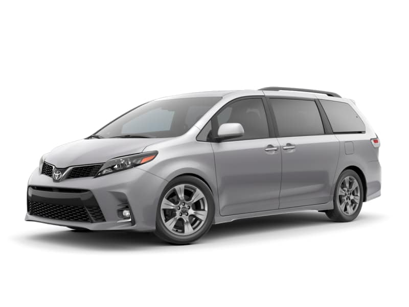 The 2020 Toyota Sienna SE for sale at Arlington Toyota in Jacksonville, FL