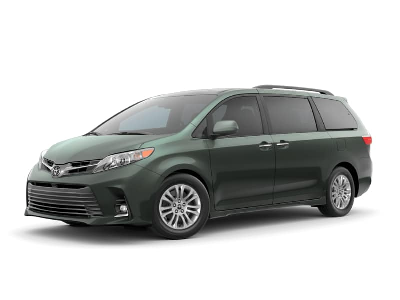 The 2020 Toyota Sienna XLE for sale at Arlington Toyota in Jacksonville, FL
