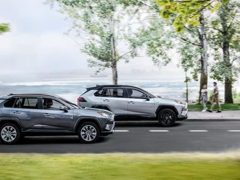2019 Toyota Highlander vs 2019 Toyota RAV4 for Sale in Jacksonville, FL
