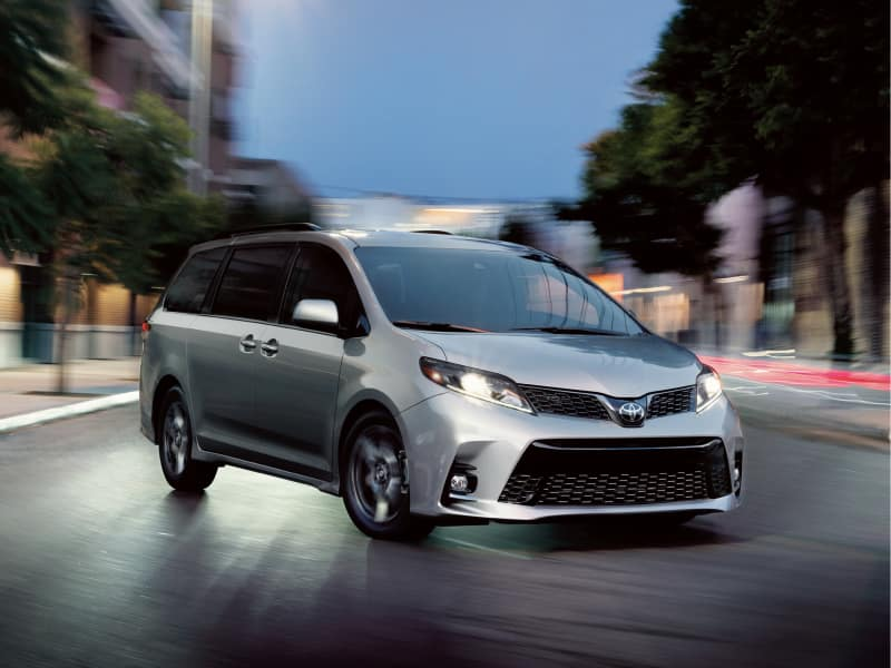 The high-performance 2019 Toyota Sienna
