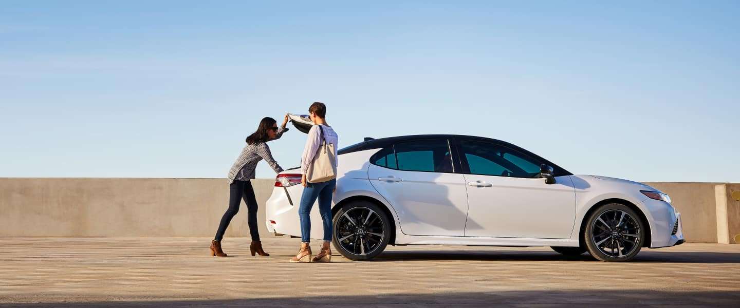 The 2020 Toyota Camry for sale at Arlington Toyota in Jacksonville, FL