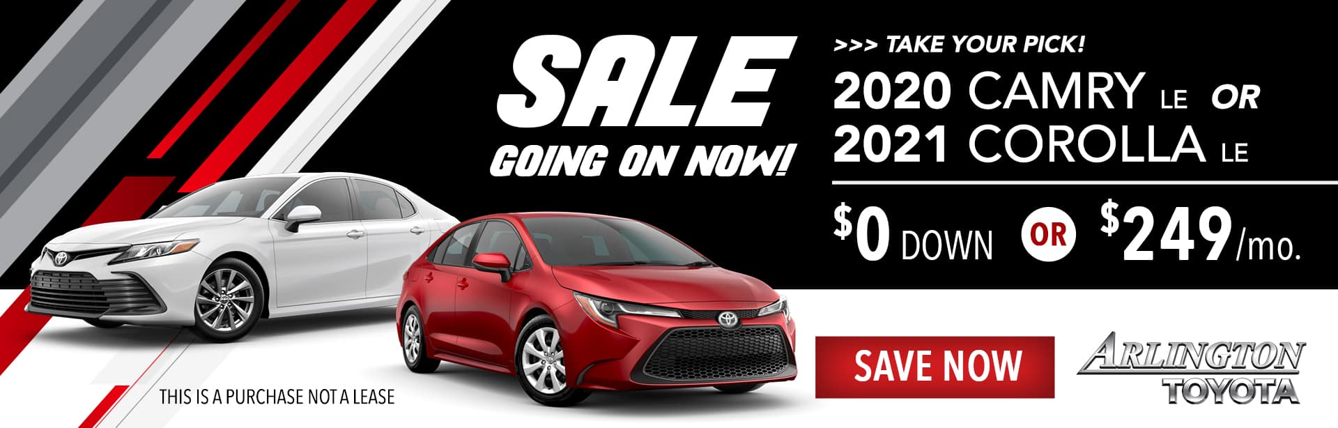 Camry Corolla SALE March2021 Homepage1920x614