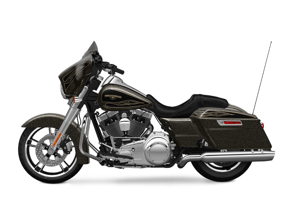 2016 Harley Davidson Touring Street Glide Hard Candy Black Gold Flake