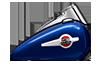 2016 Heritage Softail Classic Tank Blue