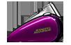 2016 Heritage Softail Classic Tank Purple