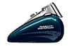 2016 Heritage Softail Classic Tank Teal