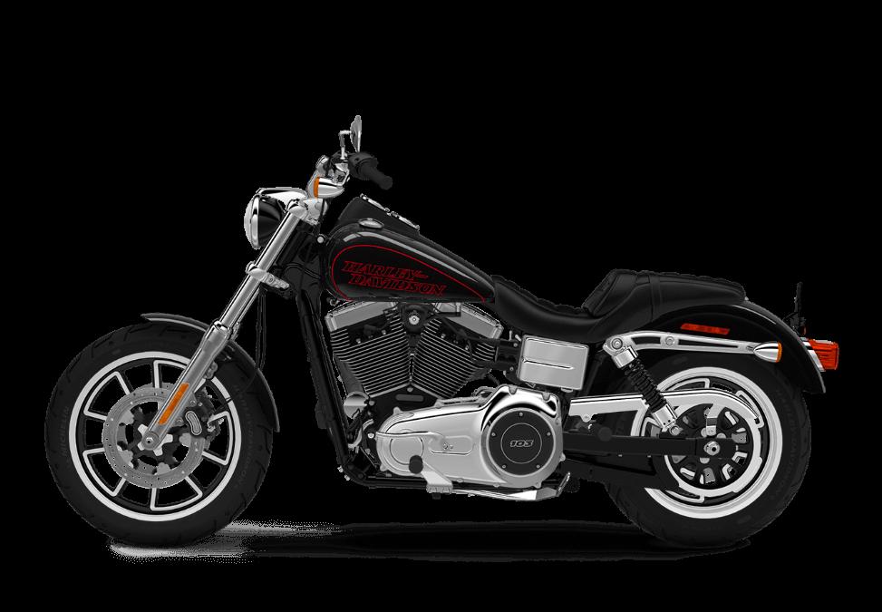 2016 Low Rider Vivid black