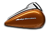 2016 Road Glide Amber Whiskey Tank
