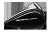 2016 Road Glide Vivid Black Tank
