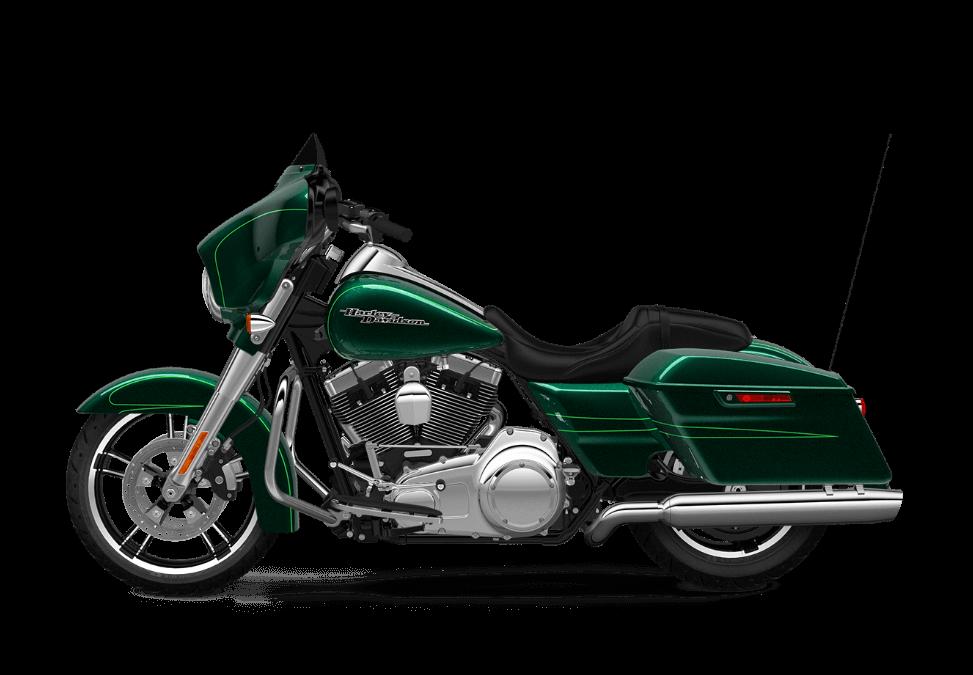 2016 Street Glide Special Green