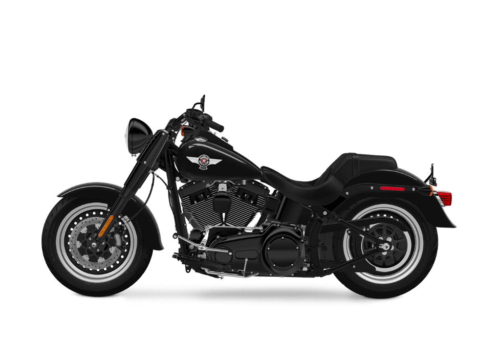 Harley-Davidson Fat Boy Vivid Black