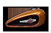 2016 Harley-Davidson 1200 Custom amber whiskey