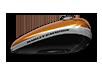 2016 Harley-Davidson 1200 Custom amber whiskey w black