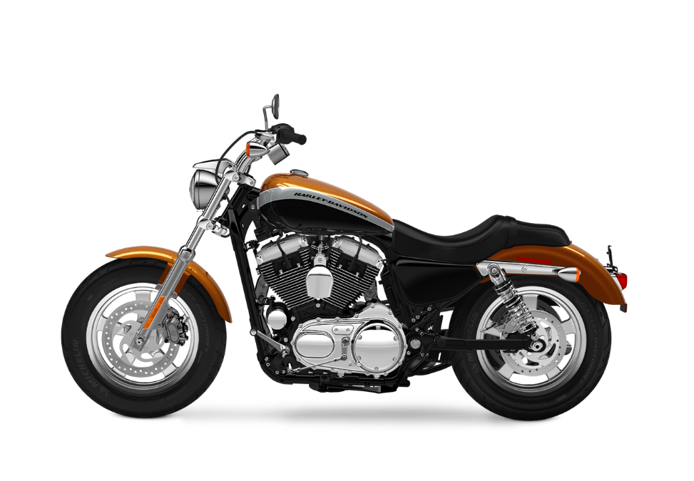 2016 Harley-Davidson 1200 Custom amber whiskey w black