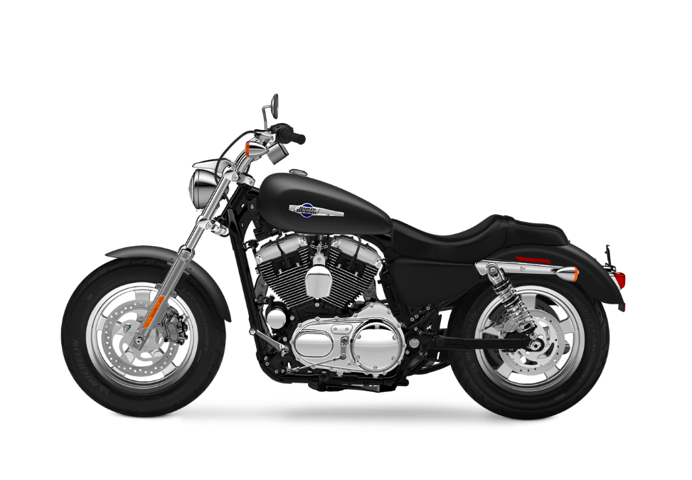 2016 Harley-Davidson 1200 Custom black denium