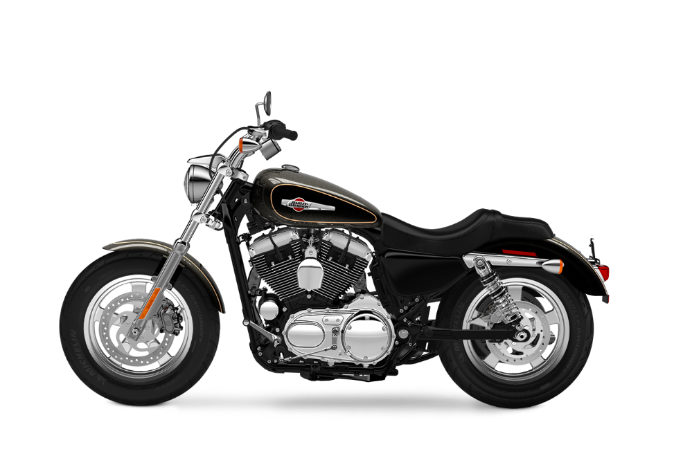 2016 Harley-Davidson 1200 Custom black quartz