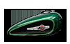 2016 Harley-Davidson 1200 Custom deep jade pearl