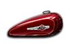 2016 Harley-Davidson 1200 Custom mysterious red sunglo