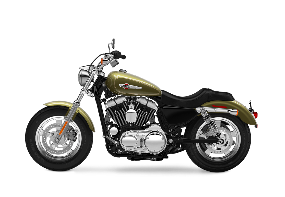 2016 Harley-Davidson 1200 Custom olive gold