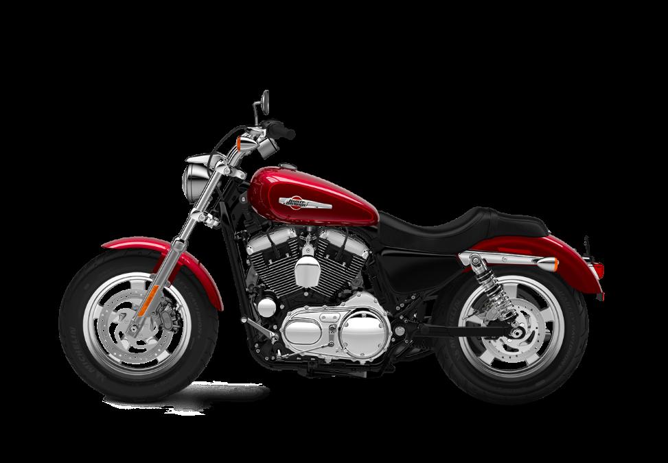 2016 Harley-Davidson 1200 Custom velocity red sunglo