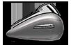 Electra Glide® Ultra Classic billet silver