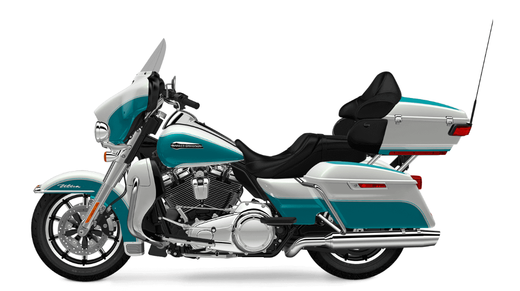 2017 Electra Glide Ultra Classic Ice Pearl _ Teal
