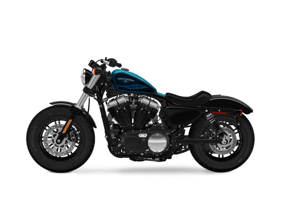 Harley Davidson Forty Eight HC Cancun Blue Flake