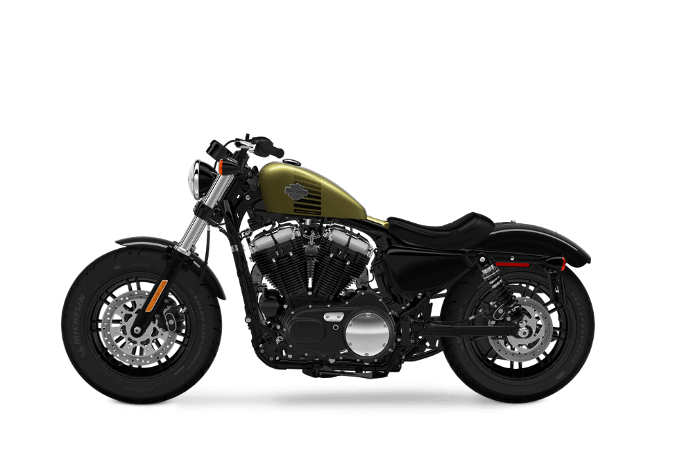 Harley Davidson Forty-Eight Olive Gold