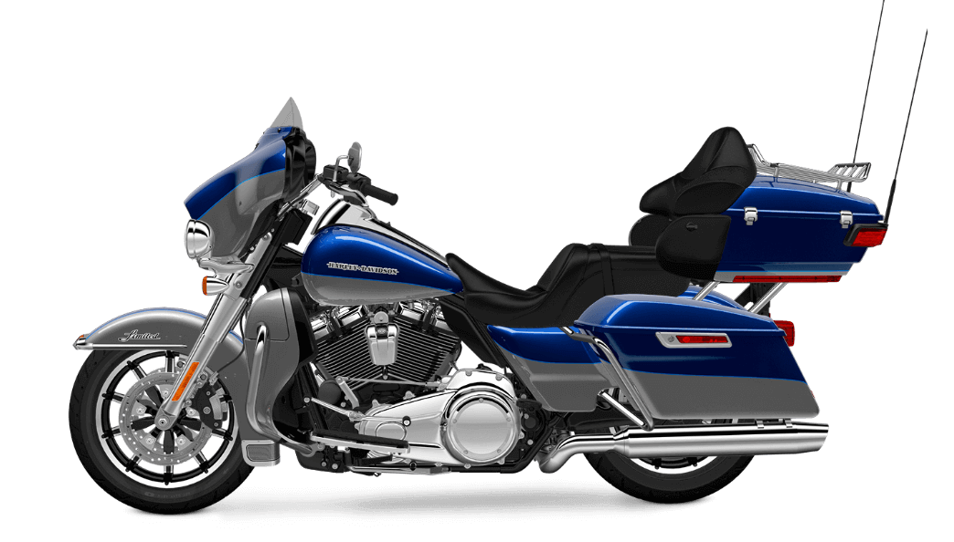 SUperior Blue Harley-Davidson® Ultra Limited Low