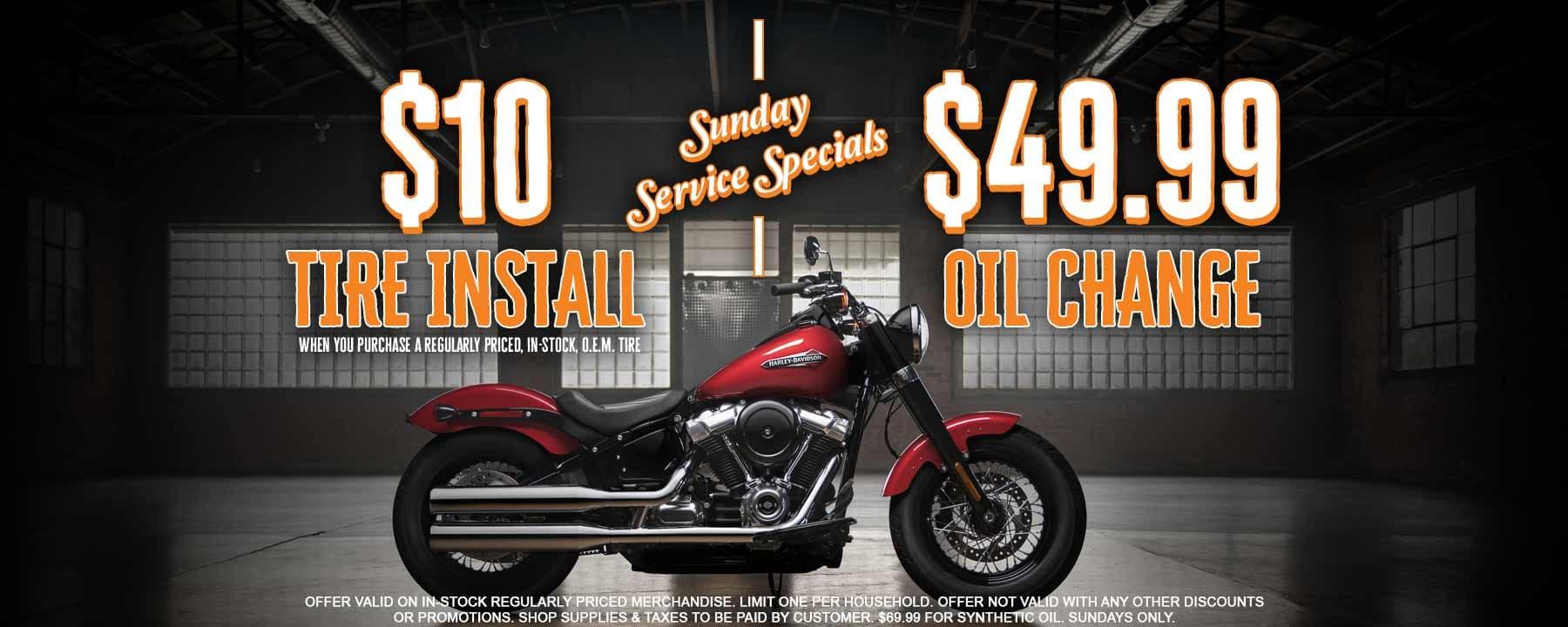 Harley-Davidson Service Coupons