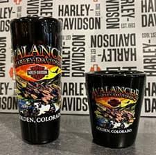Avalanche Harley Shot Glass
