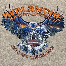 Avalanche Harley T-Shirt