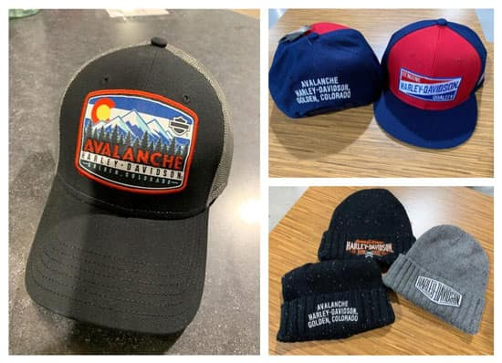 Avalanche Harley-Davidson Custom Dealer Merchandise